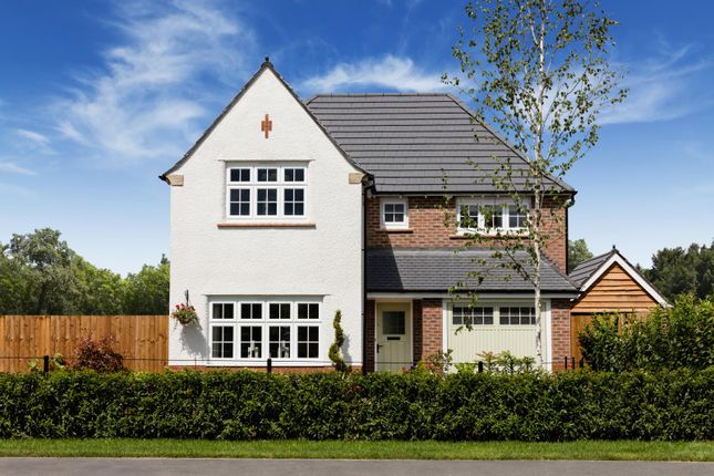Thumbnail Detached house for sale in Lancaster Green At Woodford Garden Village, Chester Road, Cheshire