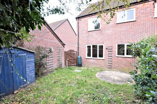 Thumbnail End terrace house for sale in Garlondes, East Harling, Norwich