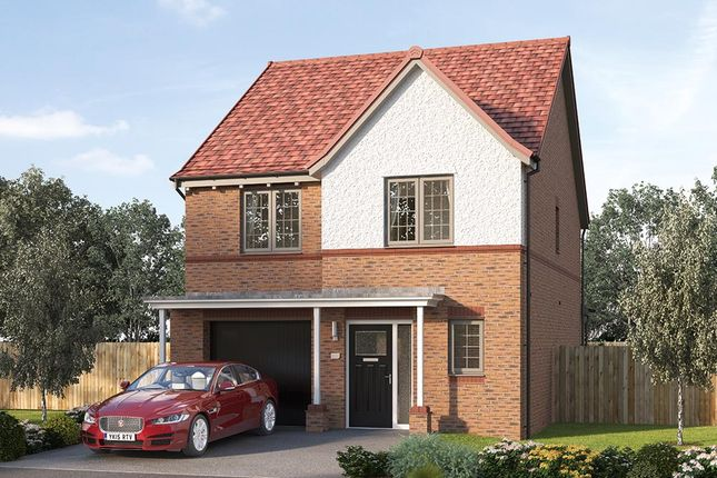 "Thumbnail Detached house for sale in ""The Holbury"" at Steeplechase Way, Market Harborough"
