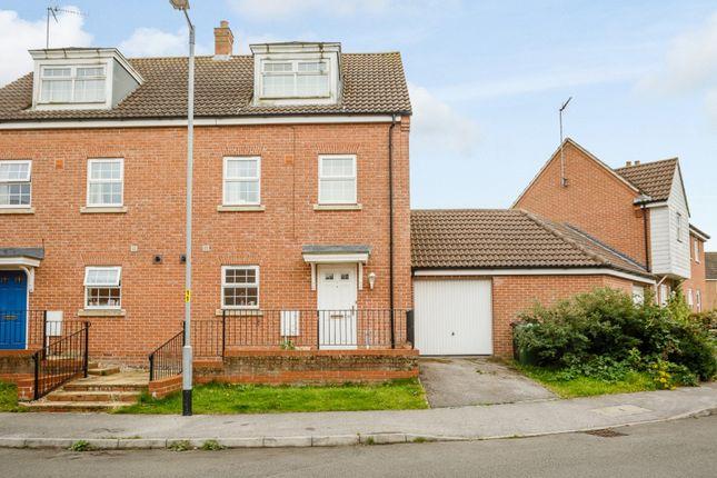 Thumbnail Semi-detached house for sale in John Davis Way, King's Lynn, Norfolk