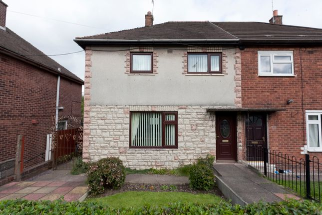 Thumbnail Semi-detached house for sale in Galloway Road, Bentilee, Stoke-On-Trent