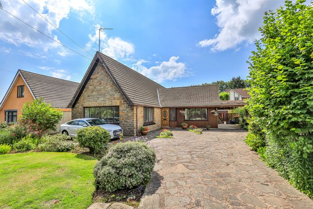 Thumbnail Detached bungalow for sale in Chepstow Road, Langstone, Newport