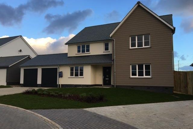 Thumbnail Detached house for sale in Merewood Close, Prixford, Barnstaple
