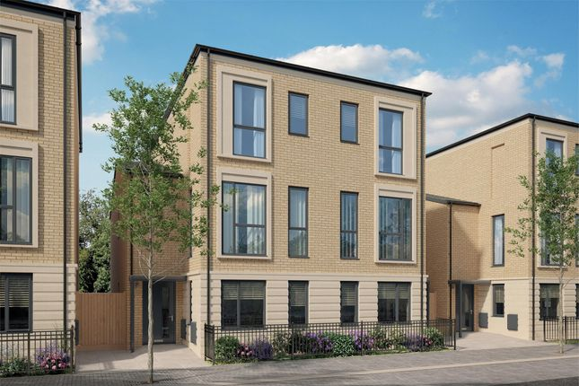 Thumbnail Town house for sale in Plot 207, The Hawkcombe, Bellway Homes, Mulberry Park, Combe Down, Bath, Somerset