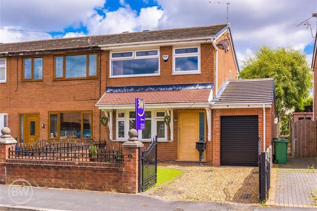 Thumbnail End terrace house for sale in Brecon Drive, Hindley Green, Wigan, Lancashire