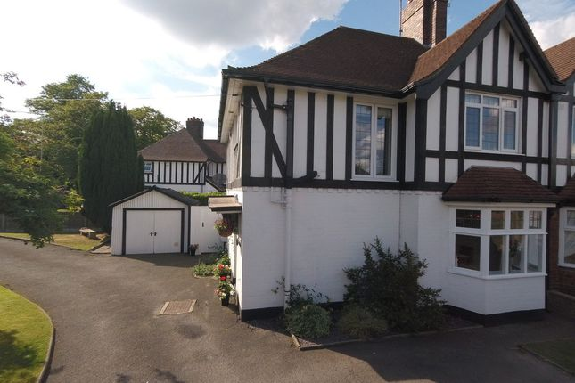 Thumbnail Semi-detached house for sale in Whitmore Road, Westlands, Newcastle-Under-Lyme
