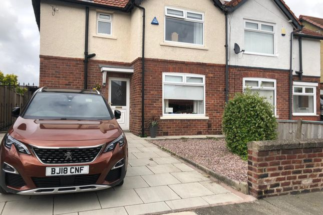 Thumbnail Semi-detached house for sale in Gardner Avenue, Bootle