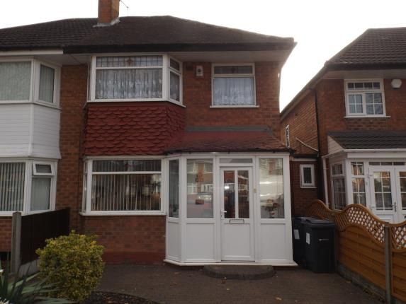 Thumbnail Semi-detached house for sale in Hodge Hill Road, Hodge Hill, Birmingham, West Midlands