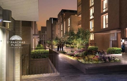 Thumbnail Flat for sale in St Pancras Place, 277A Grays Inn Road, Kings Cross