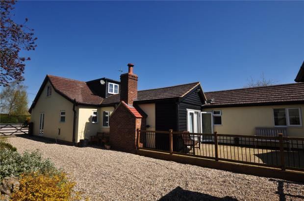 Thumbnail Detached bungalow for sale in Wicken Road, Clavering, Saffron Walden, Essex