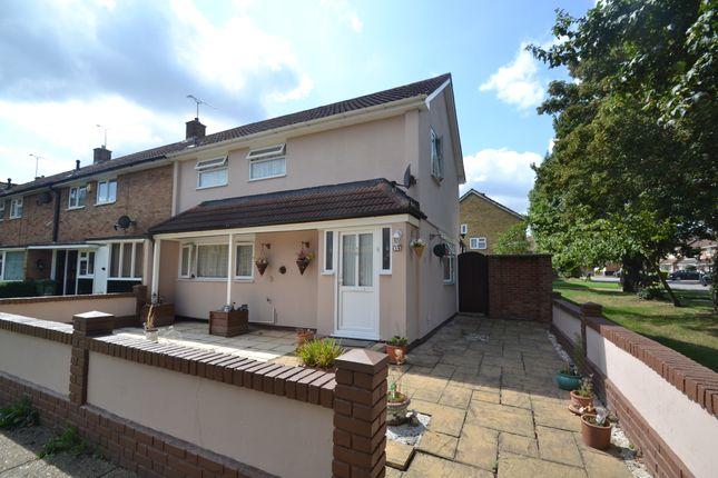 Thumbnail End terrace house for sale in Bonnygate, Basildon