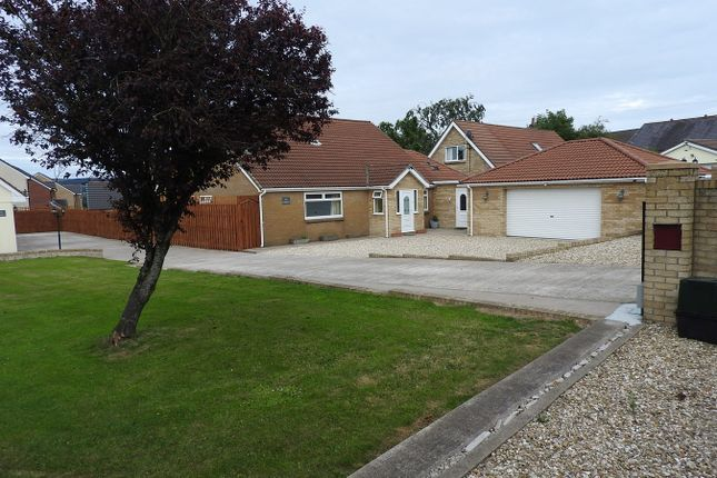 Thumbnail Detached bungalow for sale in Croespenmaen, Crumlin, Newport