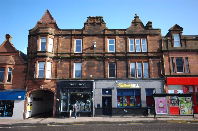 Thumbnail Flat to rent in Burns Statue Square, Ayr, South Ayrshire, 1Su