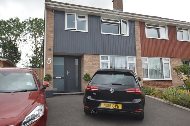 Thumbnail Semi-detached house to rent in Coates Road, Exeter