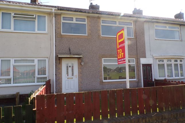 Thumbnail Terraced house to rent in Terrier Close, Bedlington