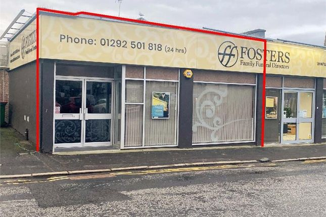 Thumbnail Retail premises to let in 2-6 Burns Statue Square, Ayr, South Ayrshire