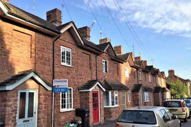 Thumbnail Terraced house to rent in Vicarage Lane, Bishops Lydeard, Taunton