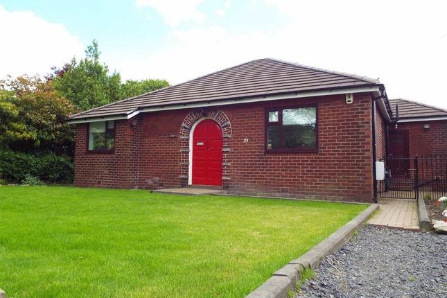 Thumbnail Detached bungalow to rent in Bolton Road, Hawkshaw, Greater Manchester