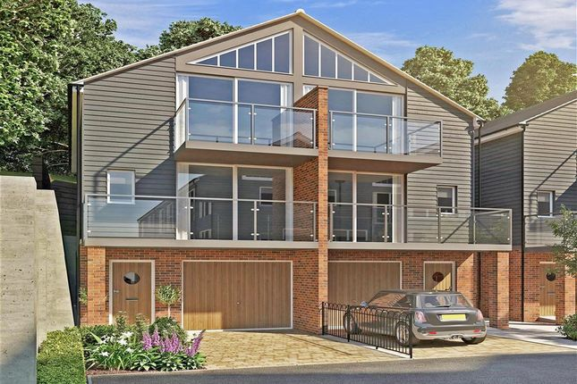Thumbnail Semi-detached house for sale in Upnor Road, Lower Upnor, Rochester, Kent