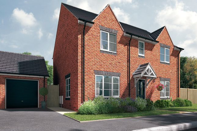 """Thumbnail Detached house for sale in """"The Leverton"""" at Station Approach, Westbury"""