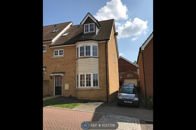 4 bed semi-detached house to rent in Eagle Close, Stowmarket IP14