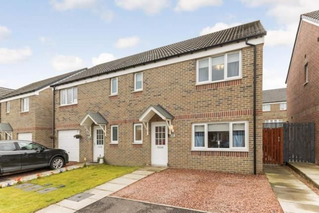 Thumbnail Semi-detached house for sale in Craigswood Crescent, Baillieston, Glasgow, Lanarkshire