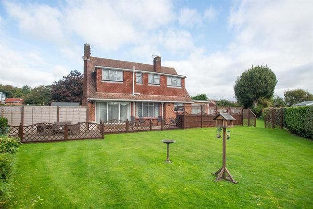 Thumbnail Detached house for sale in Old Shoreham Road, Lancing, West Sussex