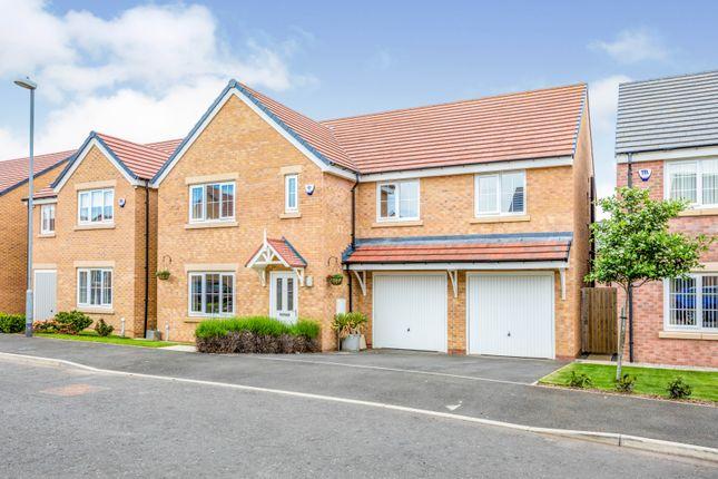 Thumbnail Detached house for sale in Bandon Court, Ashington