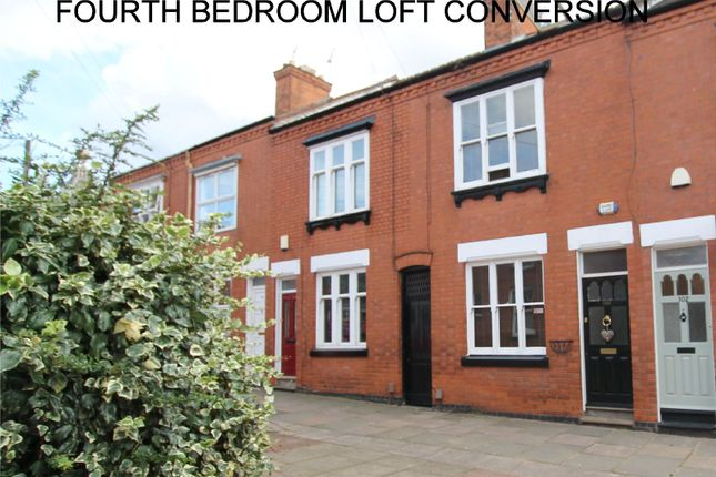 Thumbnail Terraced house for sale in Adderley Road, Clarendon Park, Leicester