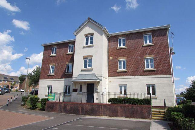 Thumbnail Flat to rent in 204 Longacres, Brackla, Bridgend