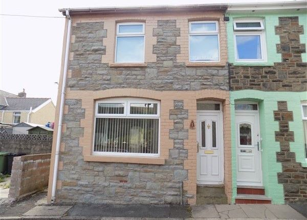 Thumbnail End terrace house to rent in Morgan Street, Abertillery