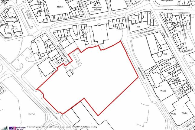 Thumbnail Land for sale in Bournes Bank & Woodbank Street, Stoke-On-Trent, Staffordshire