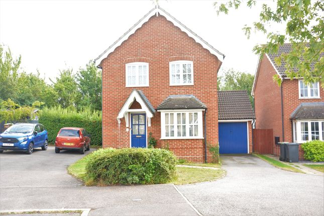 Detached house for sale in Finch Close, Stowmarket