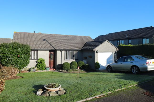 Thumbnail Detached bungalow for sale in Chenoweth Close, Camborne