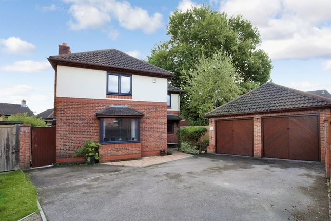 Thumbnail Detached house for sale in Giles Close, Grange Park, Hedge End
