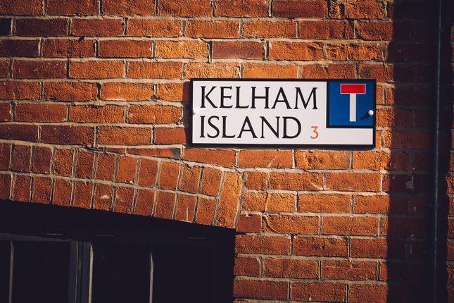Kelham Sign of Cornwall Works Phase 2, Russell Street, Kelham Island, Sheffield S3