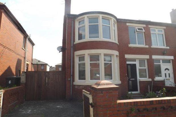 Thumbnail Semi-detached house to rent in Blenheim Avenue, Blackpool