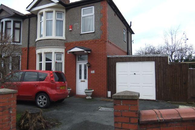 Thumbnail Semi-detached house for sale in Burnley Road, Blackburn