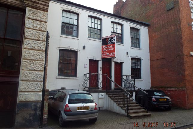 Thumbnail Office for sale in 39-41 Vittoria Street, Jewellery Quarter