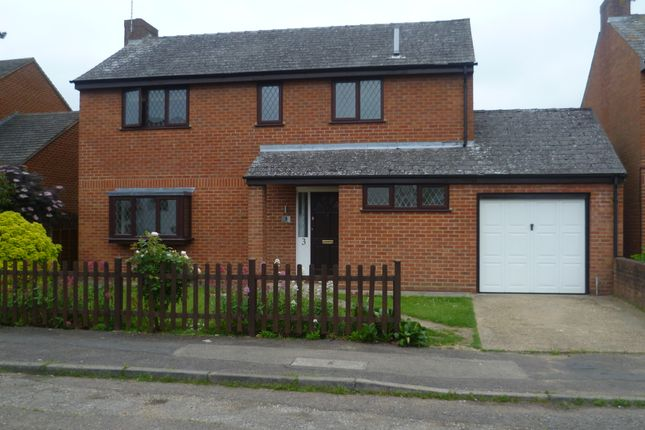 Thumbnail Detached house to rent in Castle Meadow Close, Newport Pagnell, Milton Keynes