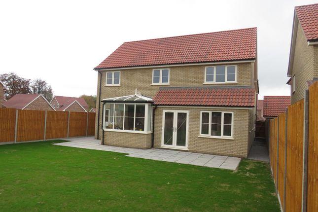 Thumbnail Detached house for sale in Rowan Close, Watlington, King's Lynn
