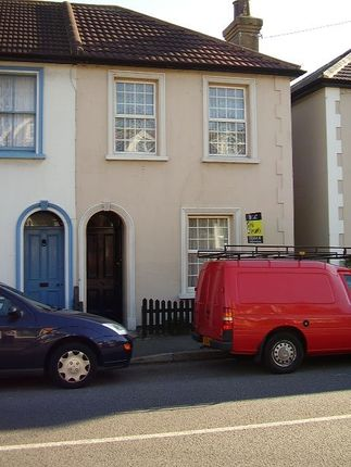 Thumbnail Terraced house to rent in Seabrook Road, Hythe
