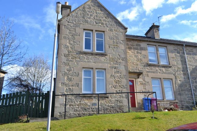 Thumbnail Flat to rent in 15 St Ronans Road, Forres