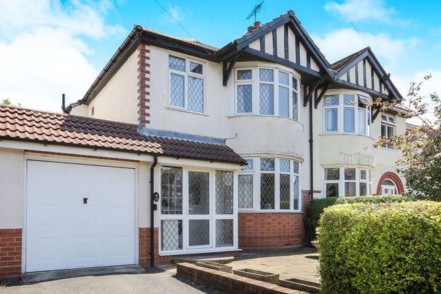 Thumbnail Semi-detached house for sale in Newbolds Road, Fallings Park, Wolverhampton
