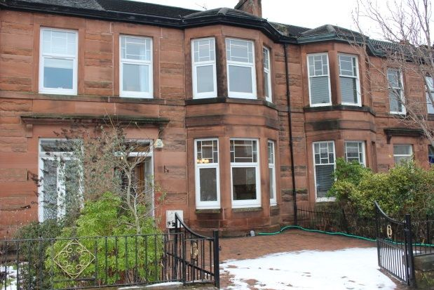 Thumbnail Terraced house to rent in Second Avenue, Glasgow