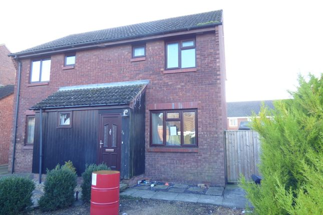 Thumbnail End terrace house for sale in Danvers Way, Westbury