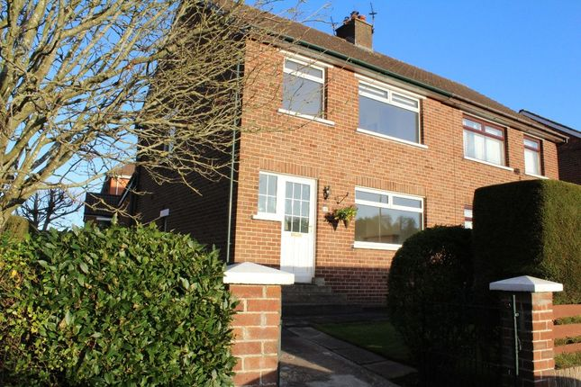 Thumbnail Semi-detached house to rent in Gortgrib Drive, Belfast