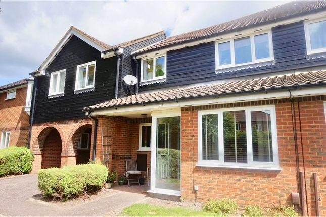 Thumbnail Terraced house for sale in Hazel Gardens, Sawbridgeworth