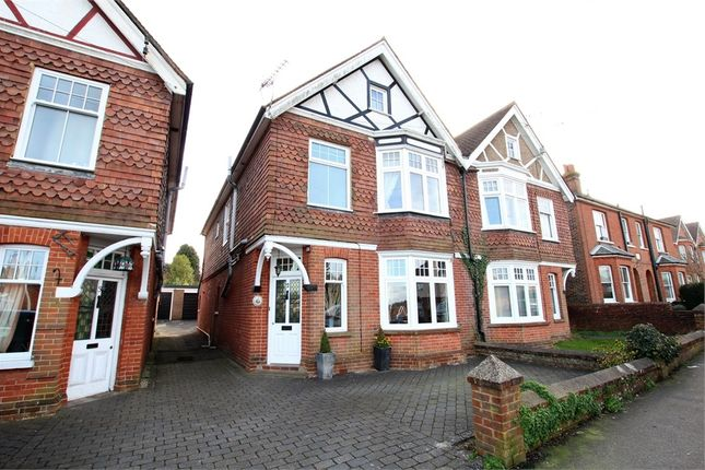 Semi-detached house for sale in Cranston Road, East Grinstead, West Sussex