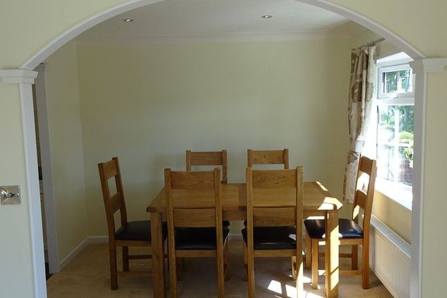 Dining Room of Dinwoodie Lodge Park Johnstonebridge, Lockerbie, Dumfriesshire. DG11
